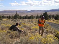 West Butte site recording
